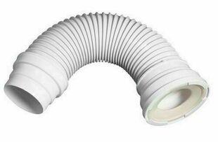 Pipe extensible à armature métalique pour raccordement WC - Gedimat.fr