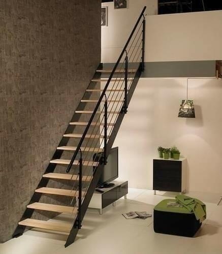 Gedimat mat riaux de construction bricolage d coration - Escalier droit acier ...