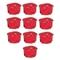 Boîte d'encastrement 1 poste pour cloison creuse diam.67mm prof.40mm vendu en lot de 10 pièces - Gedimat.fr