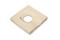 Caniveau d'about avec évacuation dalle pour terrasse ou piscine en pierre reconstituée ABBAYE dim.35x35cm coloris pierre - Gedimat.fr