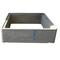 Rehausse béton RH40 avec emboitement int.40x40X20cm ext.47x47x20cm - Gedimat.fr