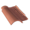 Tuile GALLEANE 12 coloris rouge - Gedimat.fr