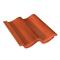 Tuile TRAPIDANNE coloris rouge sienne - Gedimat.fr