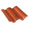 Tuile béton PLEIN CIEL coloris rouge sienne - Gedimat.fr