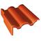 Tuile de rive gauche universelle PLEIN CIEL coloris rouge sienne - Gedimat.fr