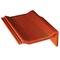 Tuile de rive universelle droite PERSPECTIVE coloris badiane - Gedimat.fr
