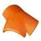 Rencontre 3 voies pente <lt/>50% faitages arêtiers coloris rouge sienne - Gedimat.fr