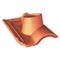 Tuile à douille GALLO-ROMANE GR13 diam.120mm coloris silvacane littoral - Gedimat.fr