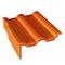 Tuile de rive gauche universelle gauche DOUBLE ROMANE coloris brun - Gedimat.fr