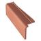 Rive à rabat gauche GALLEANE en terre cuite coloris rouge - Gedimat.fr