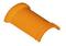 Faîtière ronde ventiléee à emboîtement et bourrelet pour tuiles TERREAL coloris rose - Gedimat.fr