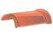 Faîtière ronde ventiléee à emboîtement (section ventilation 10cm²) pour tuiles TERREAL coloris chaumière - Gedimat.fr