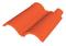 Double rive 3/4 pureau pour tuiles DC12 coloris cathédrale - Gedimat.fr
