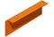 Tuile de rive verticale gauche TBF coloris rouge volcan - Gedimat.fr