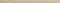 Listel Glossy carrelage pour mur en faïence WALL larg.2,5cm long.46 cm coloris sand - Gedimat.fr