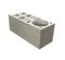 Bloc béton de chaînage vertical B40 ép.20cm haut.20cm long.50cm - Gedimat.fr