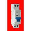 Disjoncteur électrique modulaire ZENITECH unipolaire + neutre 220V intensité 20A - Gedimat.fr