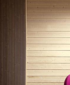 Lambris sapin du nord MASSIF large verni aspect brossé ép.15mm  larg.135mm long.2,50m éco ivoire - Gedimat.fr