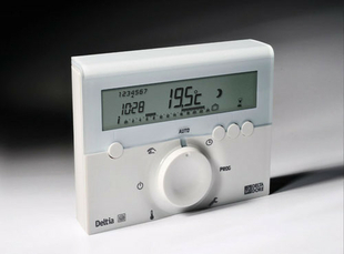 Thermostat programmable électronique DELTIA 8.00 - Gedimat.fr