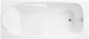 Baignoire droite DETENTE IDEAL STANDARD acrylique larg.90cm long.1,90m 260L blanc - Gedimat.fr