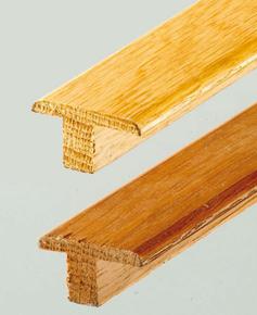 Profil sol de transition en bois massif �p.18mm larg.45mm long.1,00m ch�ne clair verni - GEDIMAT - Mat�riaux de construction - Bricolage - D�coration