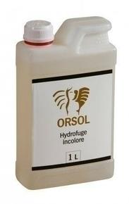 Hydrofuge ORSOL - Gedimat.fr