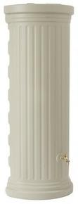 Réservoir de récupération d'eau de pluie colonne romaine murale 550L coloris sable - Gedimat.fr