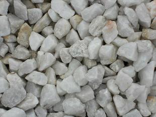 Gravillons calcaire blanc sac de 25kg - Gedimat.fr