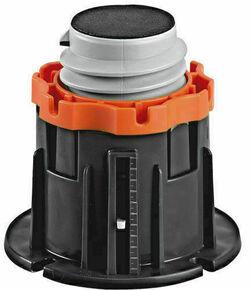 Pieds x4 pour receveur Cricabac haut.140mm - Gedimat.fr