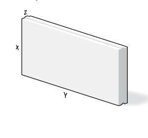 Bloc béton cellulaire long.60cm haut.25cm ép.24cm - Gedimat.fr