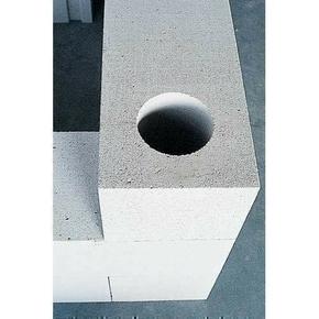 Bloc de béton cellulaire d'angle MAXI dim.60x60cm ép.30cm - Gedimat.fr