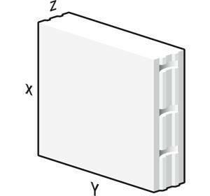 Bloc béton cellulaire Maxi 60x60cm ép.24cm - Gedimat.fr