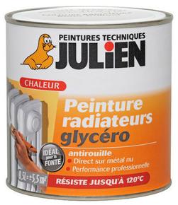 Peinture radiateur RADIAT GLYCÉRO - Blanc mat 0,5 L - Gedimat.fr