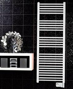Radiateur sèche-serviettes UNO 1000W Dim.L.55xH.178,1xP.10cm blanc - GEDIMAT - Matériaux de construction - Bricolage - Décoration
