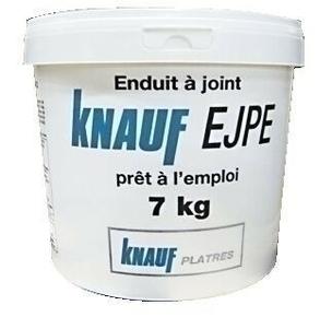 Enduit à joint prêt à l'emploi KNAUF EJPE seau de 7kg - Gedimat.fr