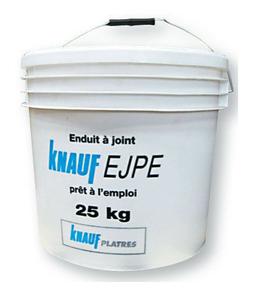 Enduit à joints prêt à l'emploi EJPE en seau de 25 kg - Gedimat.fr