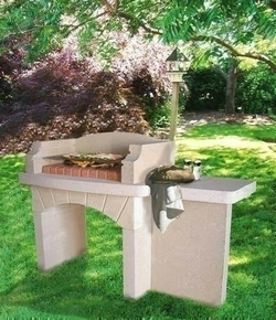 Barbecue en pierre reconstituee - Construire barbecue en pierre ...