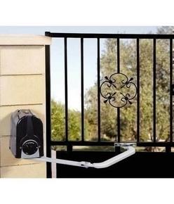 motorisation bras articul 24v compas kit pour portail battant vantail 2 3m. Black Bedroom Furniture Sets. Home Design Ideas