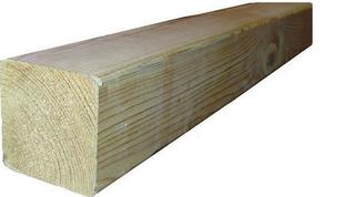 poteau en bois pin long 2 40m brun. Black Bedroom Furniture Sets. Home Design Ideas