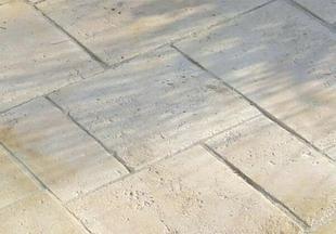 Dallage tivoli multiformat petit mod le en pierre reconstitu e p 3 5cm color - Dalle en pierre reconstituee ...