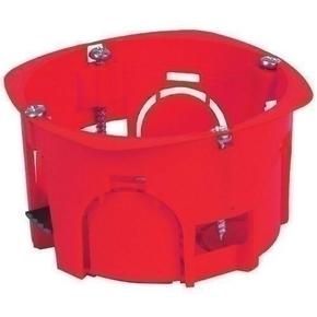 Boîte d'encastrement 1 poste pour cloison creuse diam.67mm prof.40mm - Gedimat.fr