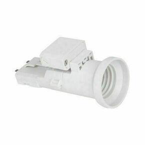 Douille et fiche DCL plastique pour lampe de puissance maxi 60W - Gedimat.fr
