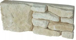 Angle plat de Causse pour pilier en pierre reconstituée IDEABLOCK haut.20cm long.52cm coloris naturel - Gedimat.fr