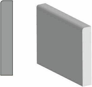 Plinthe MDF prépeinte arrondie section 10x98mm long.2,44m - Gedimat.fr