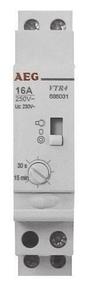 Minuterie électrique modulaire 16A 220V 1 contact NO - Gedimat.fr