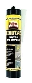 Colle fixation FIXOTAC PATTEX cartouche de 390g - Gedimat.fr