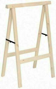 Tréteau en bois (Pin) haut.1m larg.73,5cm - Gedimat.fr