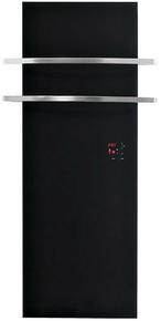 Radiateur sèche-serviette THERMOVIT EDEN 740W en verre noir - Gedimat.fr