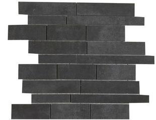 Décor Muretto carrelage pour sol en grès cérame émaillé BYBLOS dim.30x30cm coloris smoke - Gedimat.fr