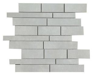 Décor Muretto carrelage pour sol en grès cérame émaillé BYBLOS dim.30x30cm coloris grey - Gedimat.fr